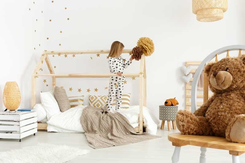 Dekoration des Kinderzimmers