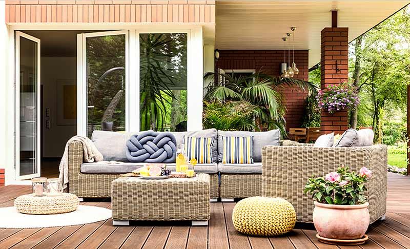 Gartenmöbel auswählen